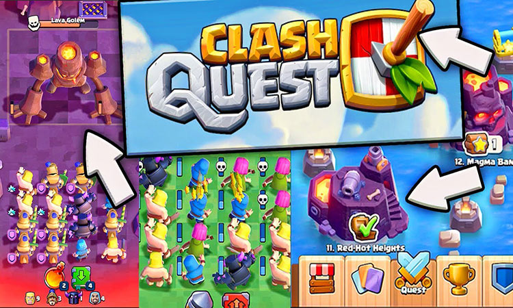 Free Download Clash Quest Android game