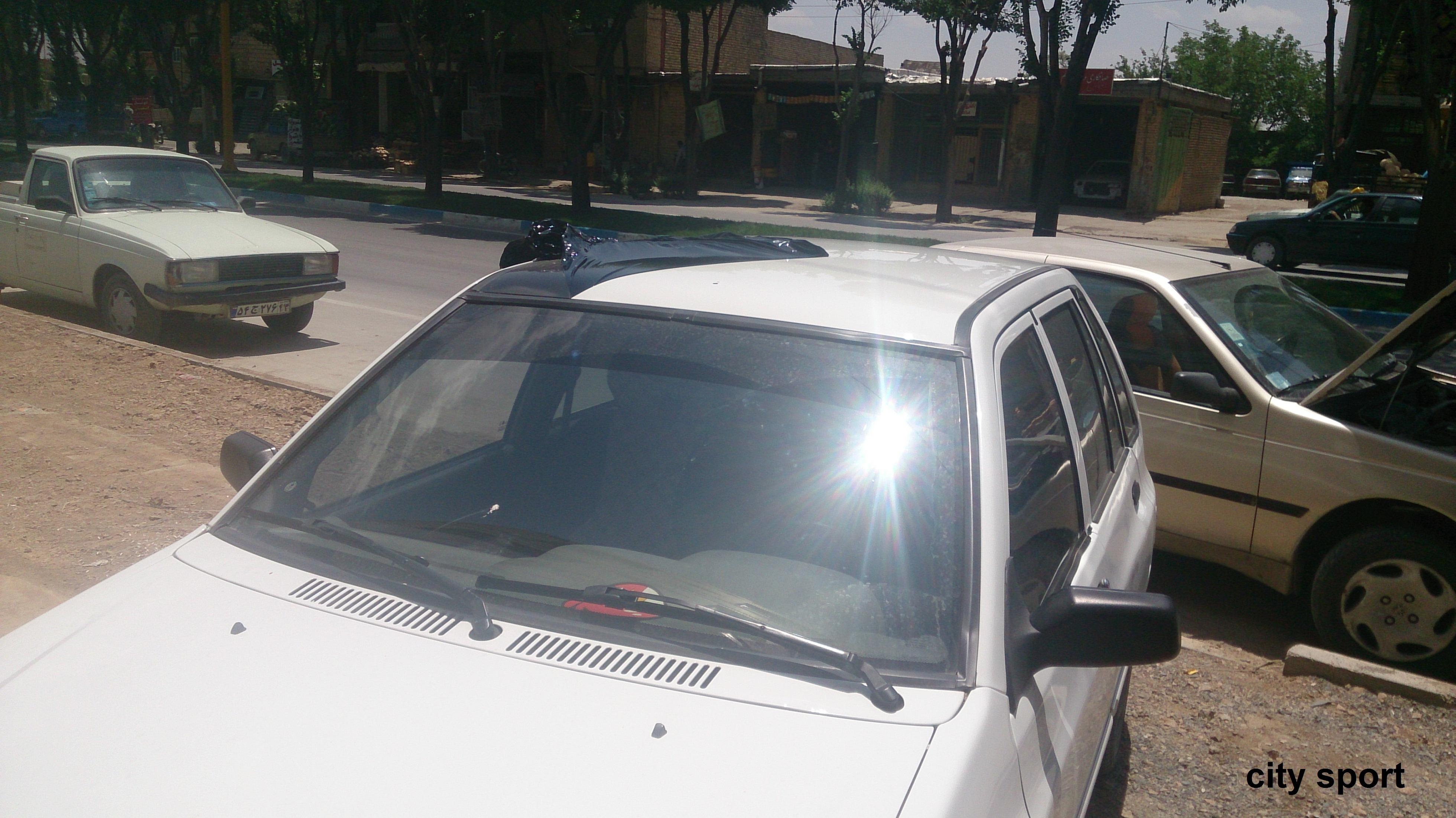 مشکی کردن سقف انواع اتومبیل