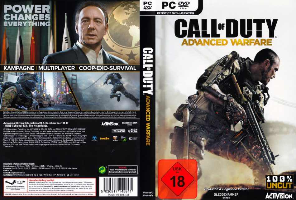 دانلود بازی Call of Duty: Advanced Warfare برای PC