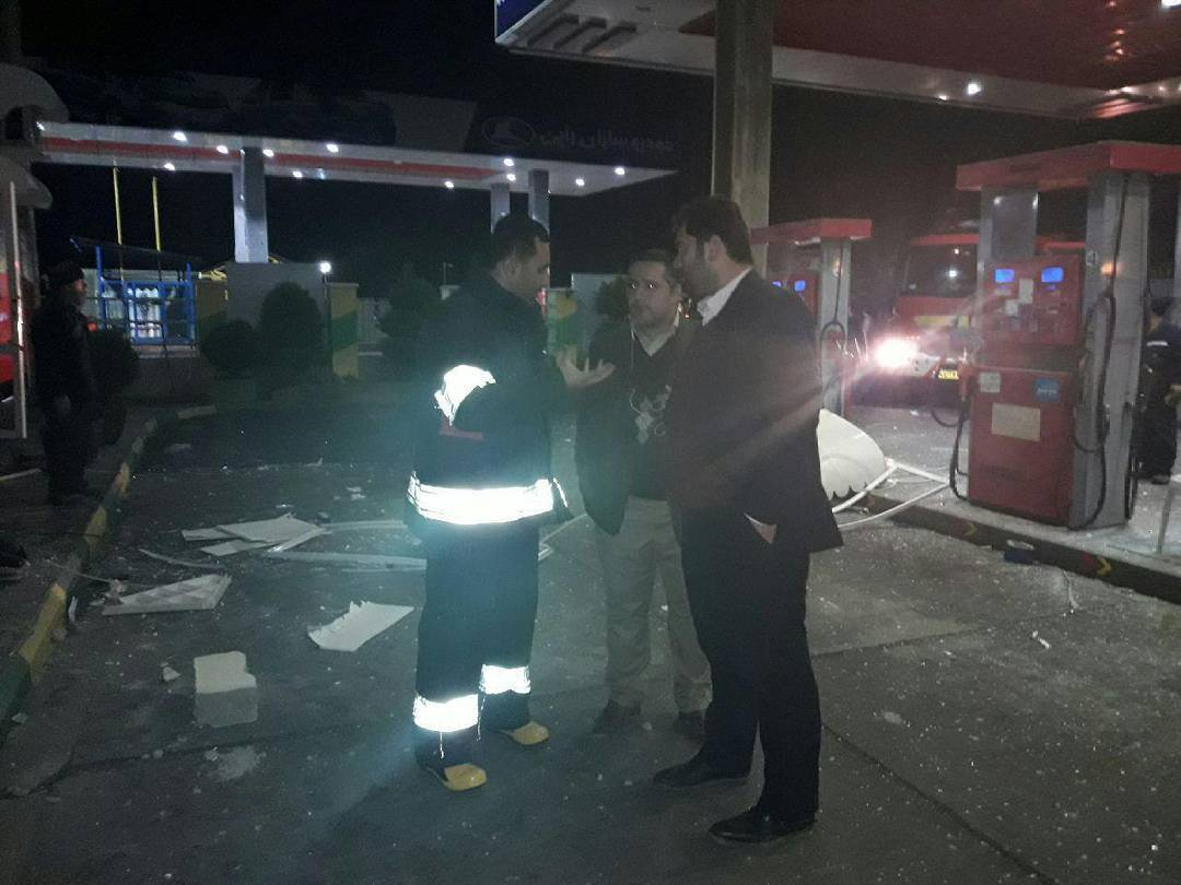 انفجار-در-پمپ-بنزین-لیلا-کوه-لنگرود