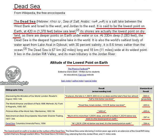 سوره ی روم و اعجاز علمی قرآن پست ترین زمین
