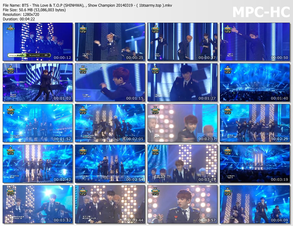 duqw bts   this love amp t.o.p (shinhwa), , show champion 20140319   ( 1btsarmy.top ).mkv thumbs - video /links] BTS Various Artist Song Cover Performs]
