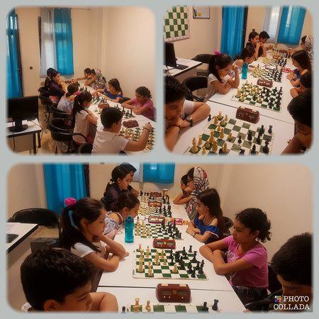 مسابقه شطرنج مدرسه شطرنج باران