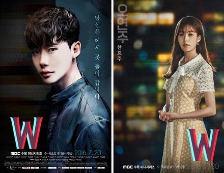 دانلود سریال کره ای W جهان های موازی – W – Two Worlds
