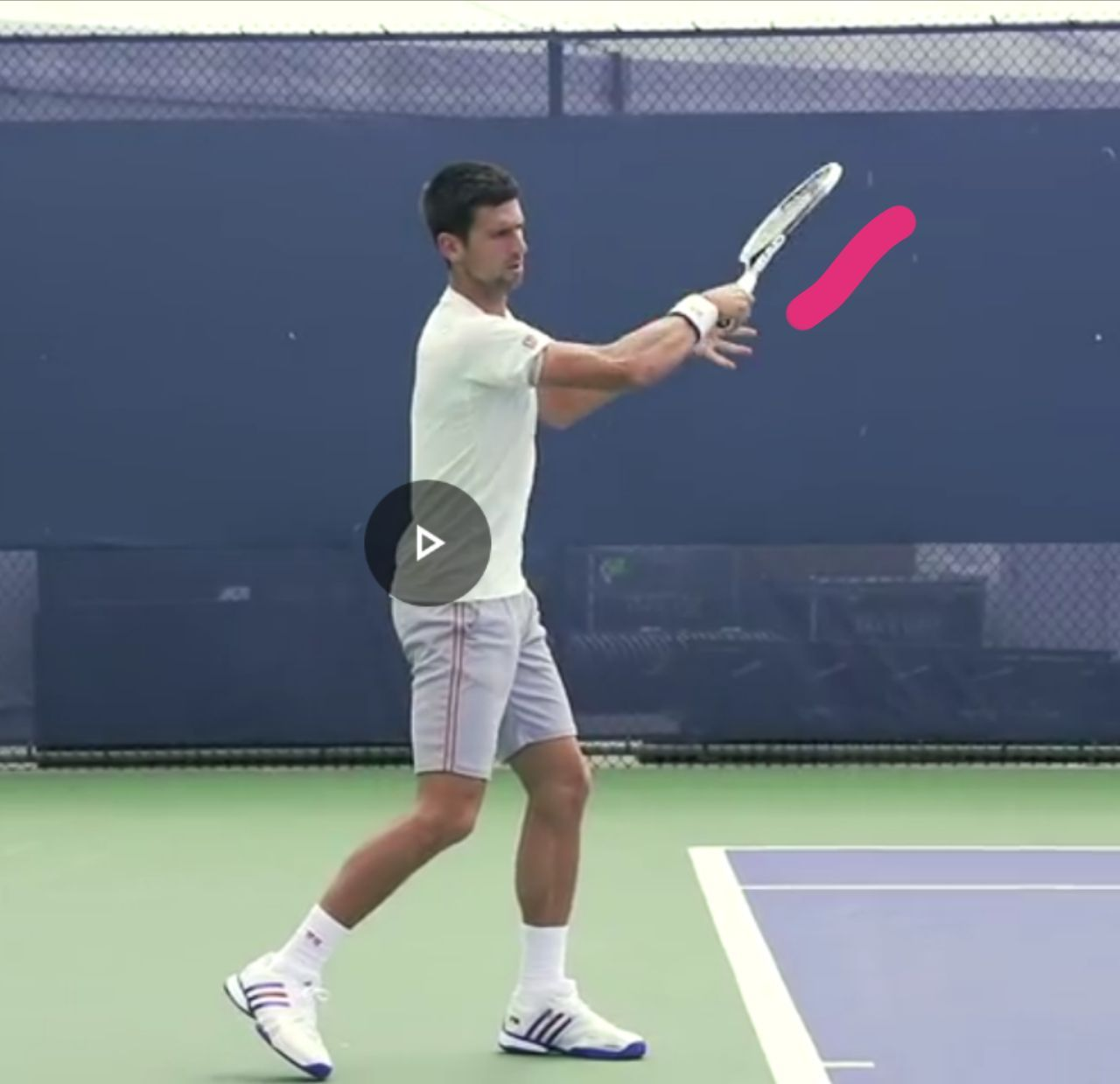 Stop pronating on forehand, it's all about ISR and Elbow