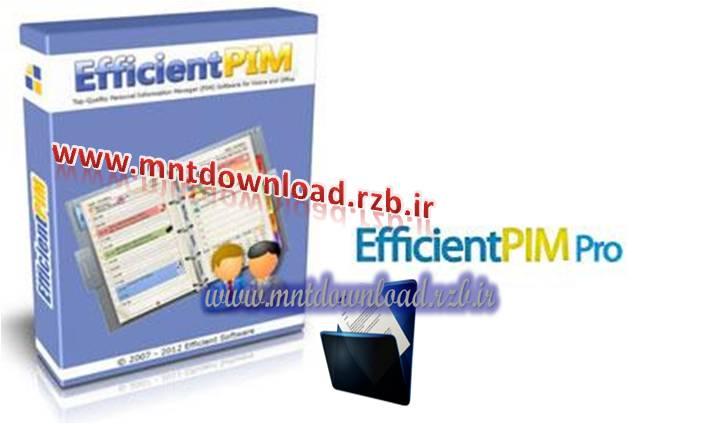 مدیریت کارهای روزانه EfficientPIM Pro 3.10.323