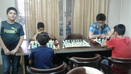 مسابقات شطرنج  به مناسبت هفته دفاع مقدس در  باشگاه ذهن برتر