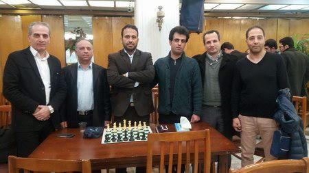 مسابقات  شطرنج کارکنان دولت 1397