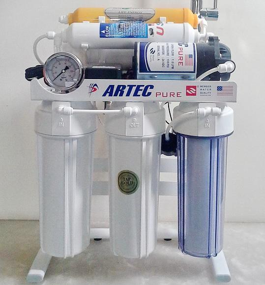 دستگاه تصفیه آب خانگی شش مرحله ای ارتک