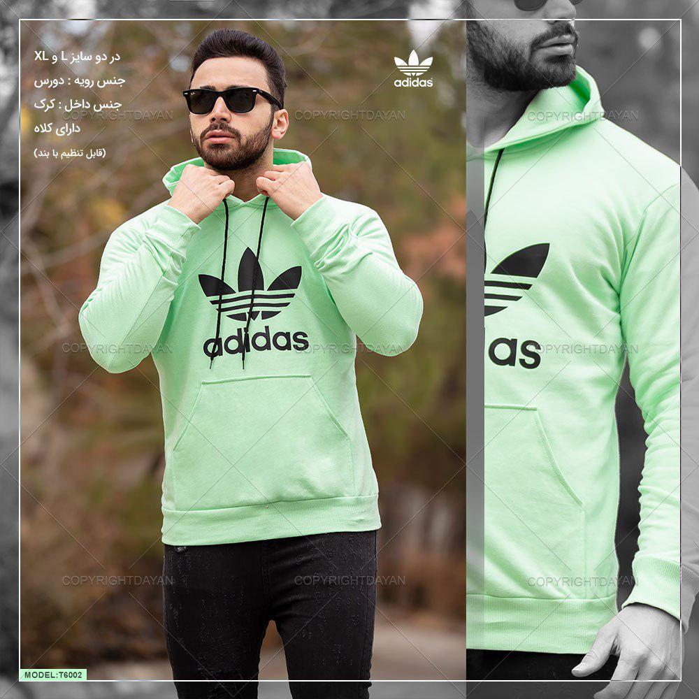 سویشرت مردانه Adidas مدل T6002 (سبز)