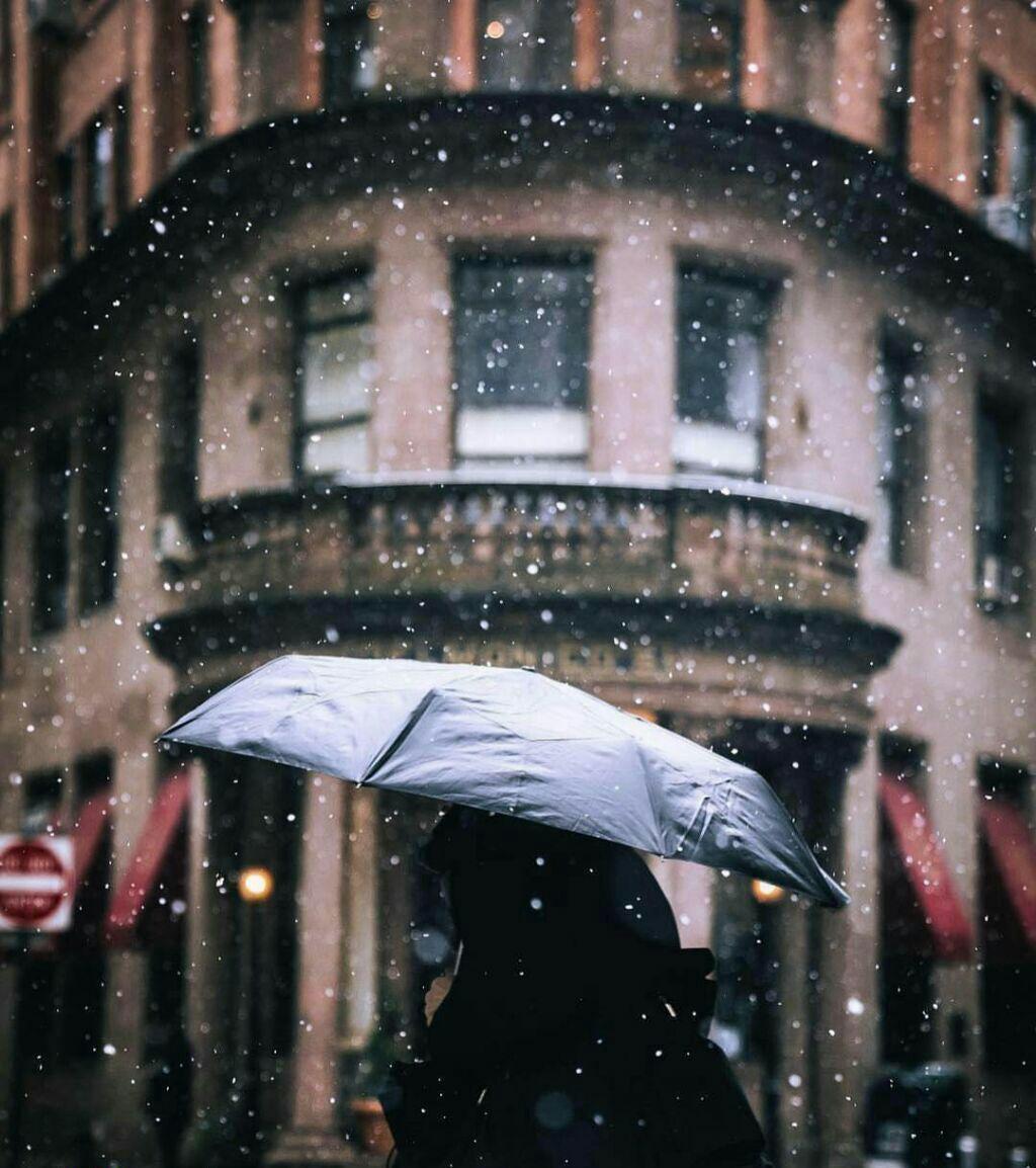 عکس زیبا باران