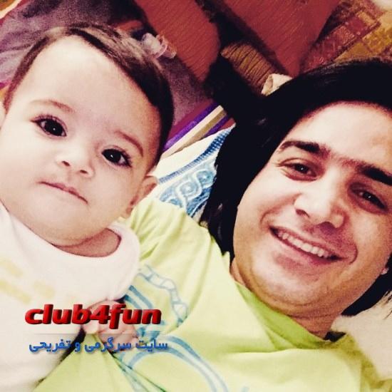 سلفی جدید و دیدنی از محسن یگانه و دخترش نگاه