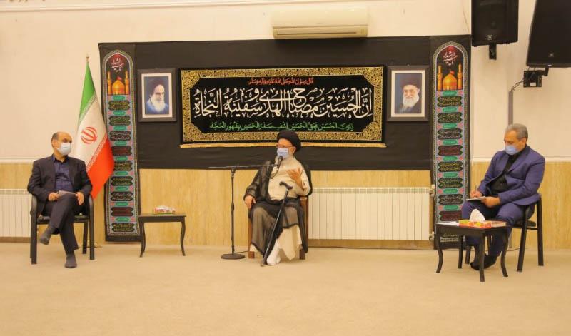 دیدار وزیر جهادکشاورزی با نماینده ولی فقیه در گلستان