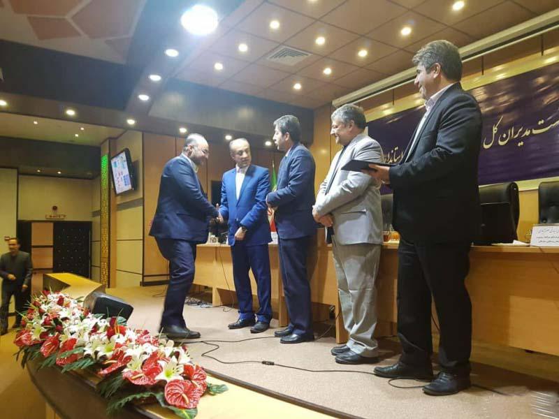 اداره کل امور روستایی و شوراها استانداری گلستان، رتبه برتر کشور را کسب کرد