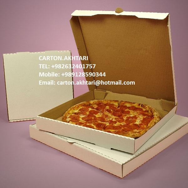 فروشنده جعبه پیتزا