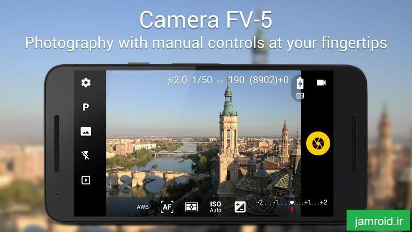 دانلود Camera FV 5 v3.1   برنامه قدرتمند دوربین برای اندروید