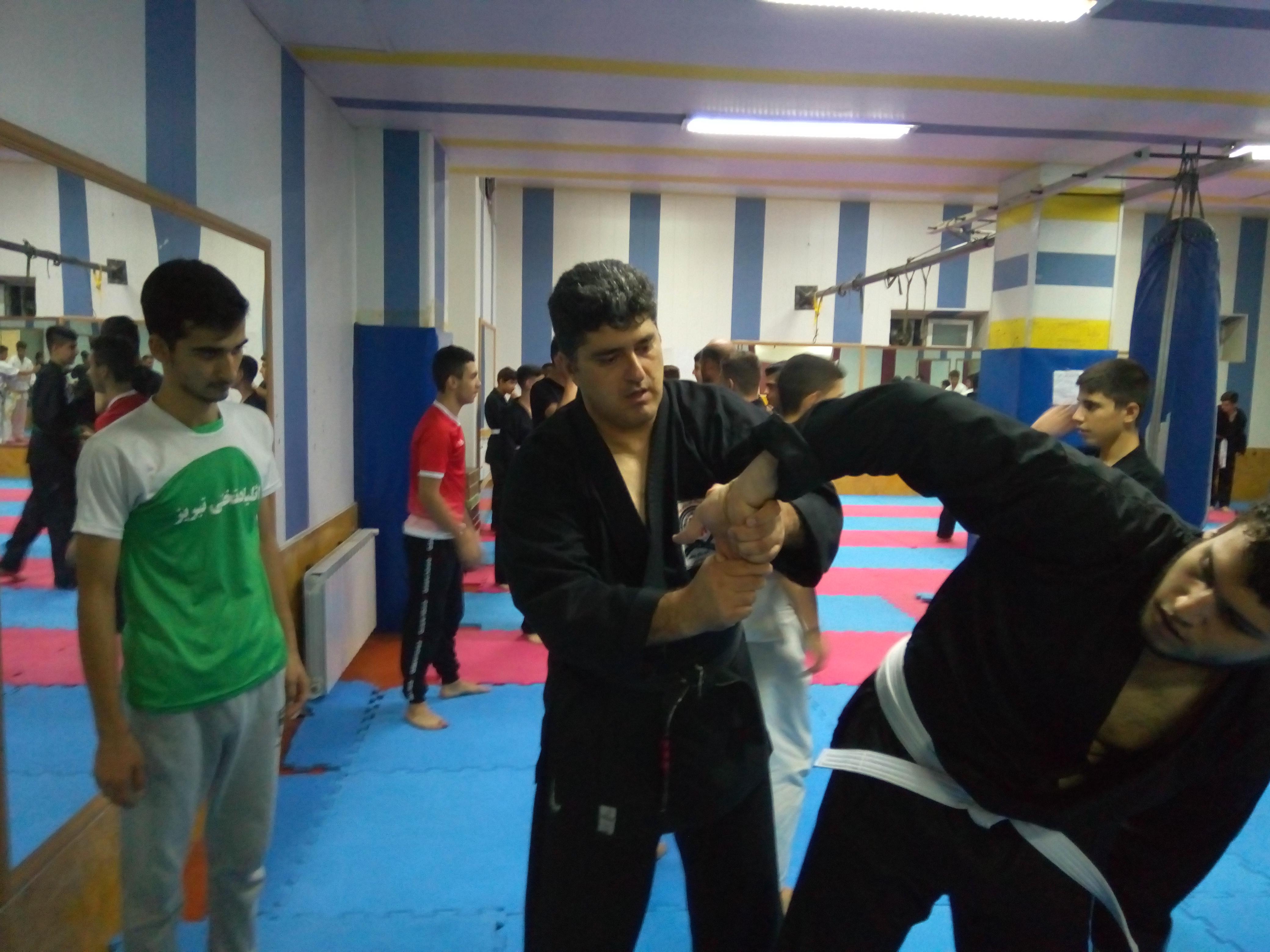 ثبت نام برای کلاس جدید دفاع شخصی در تبریز