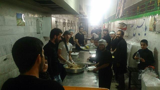 خادمین حسینیه بتلیجه ایهای مقیم تهران