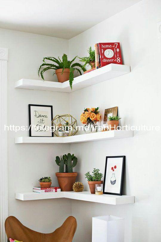 نمونه دکور های زیبا برای فضای کم و ارزان