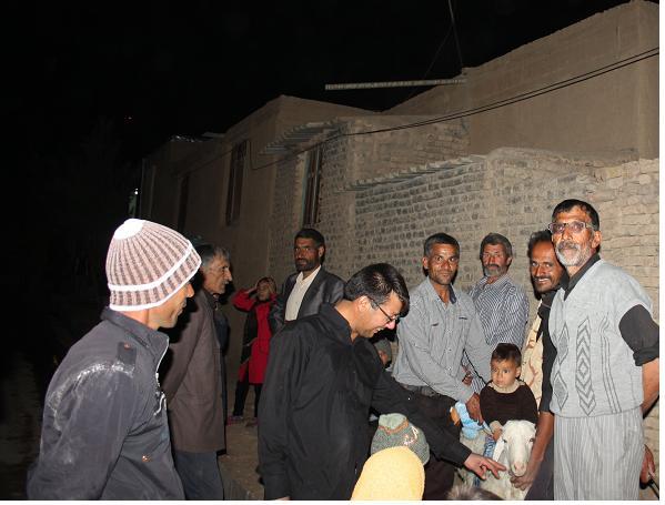 مراسم شب تاسوعا درآبیز