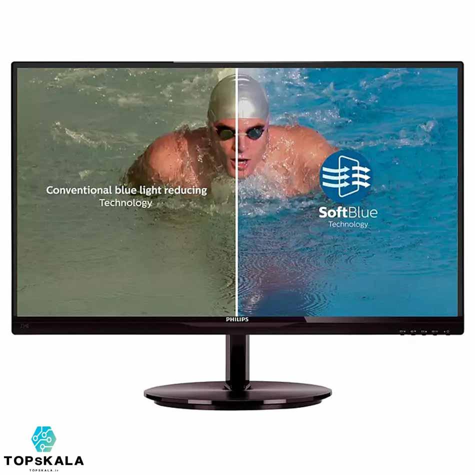 مانیتور Philips مدل 243V5 سایز 24 اینچ محصول شرکت Philips با سایز 24 اینچ کیفیت تصویر Full HD دارای مهلت تست و گارانتی رایگان
