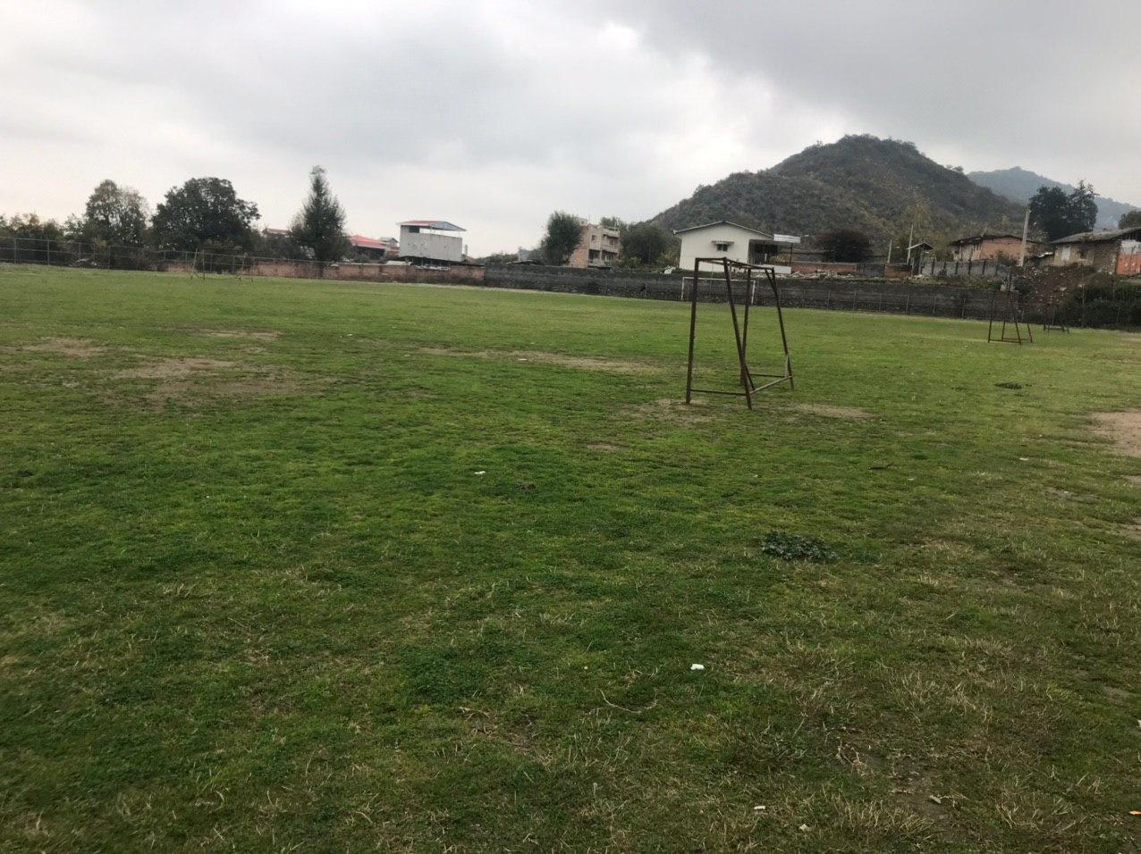 زمین ورزشی روستای بالاجاده نیازمند توجه بیشتر مسوولان / بی توجهی مدیر کل ورزش و جوانان گلستان به ظرفیت های ورزشی روستاهای استان