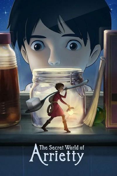 دانلود انیمیشن The Secret World of Arrietty 2010