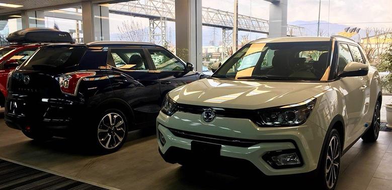 پیش فروش سانگ یانگ تیوولی 2018 - رامک خودرو - اردیبهشت 97