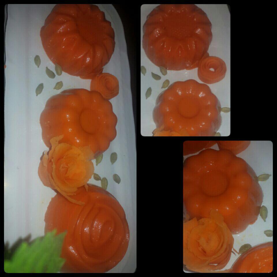 دسر آب هویج