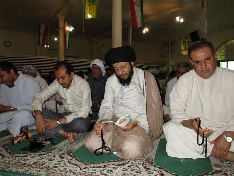 مراسم پرفیض دعای عرفه در مصلای شهرک طالقانی