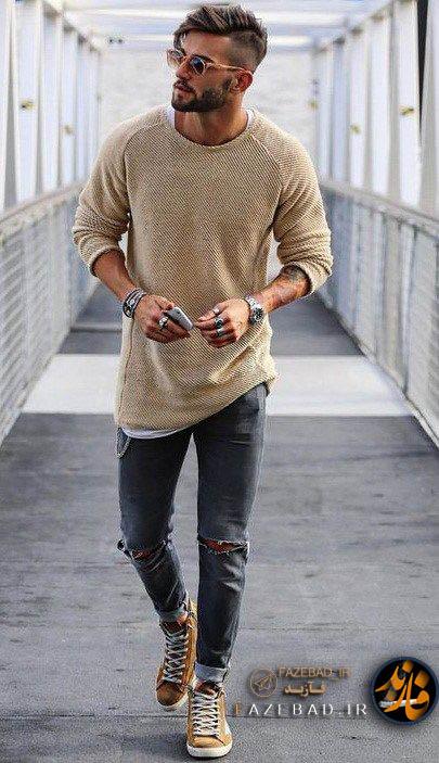 تیپ فازسنگین - مدل تیپ پسرونه -  تیپ پسرونه لش - مدل تیپ پسرونه 2019 - مدل تیپ پسرونه کانادا