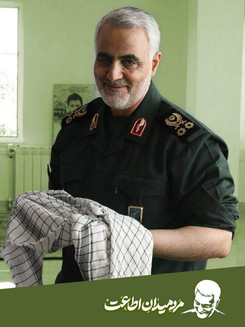 عکس سردار سلیمانی برای پروفایل