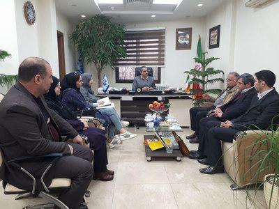 جلسه اعضا هیات شطرنج شمیرانات با رییس اداره ومدیران  با شگاه های شمیران