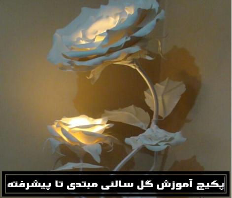 الگوی گل دکوراتیو