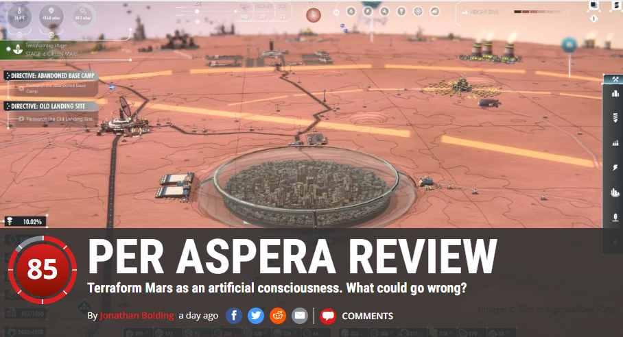 PER ASPERA REVIEW