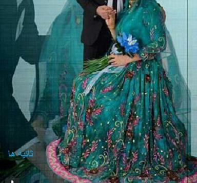 عکس دختران زیبا با لباس محلی ایران