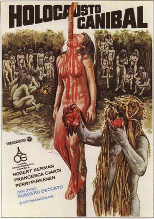 فیلم ترسناک و ممنوعه Cannibal Holocaust 1980