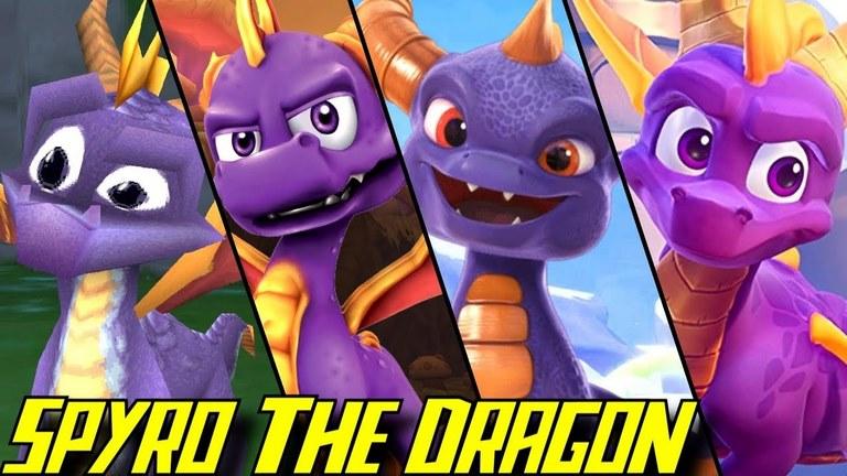 insomniac games اینسومنیاک گیمز spyro the dragon