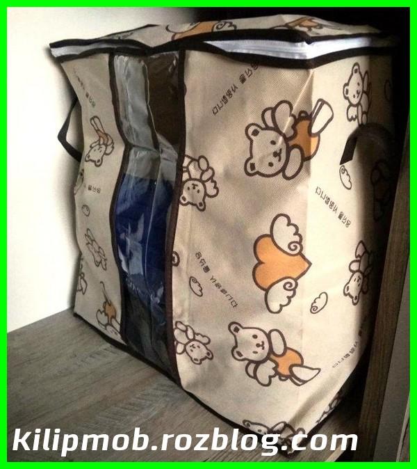 بقچه باکس زیپ دار پارچه ای لباس