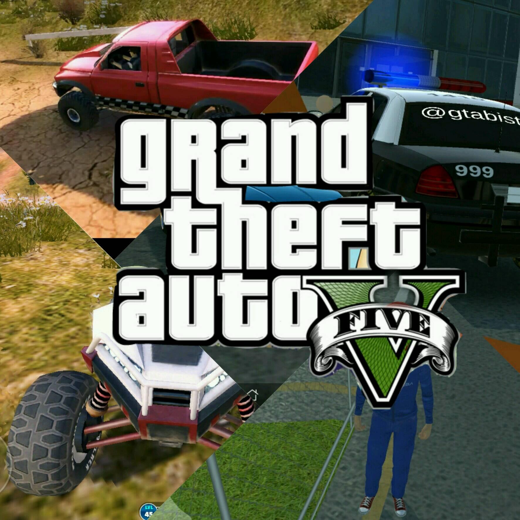 بازی گرافیکی شبیه GTA V برای اندروید