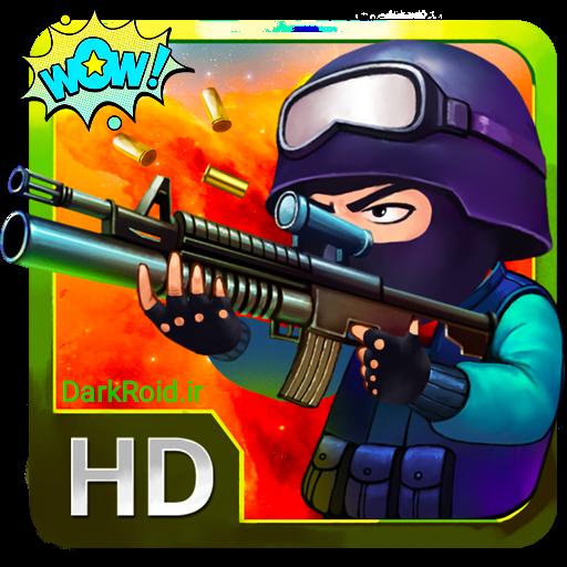 دانلود Little Gunfight 2.3 - بازی تیر انداز کوچک اندروید + مود