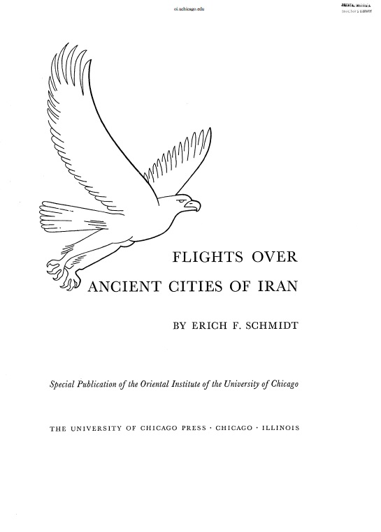 Cover of Flights Over Ancient Cities Of IRAN