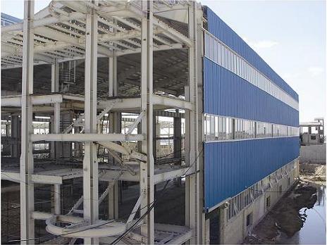 مجتمع صنعتی پانل خوزستانساندویچ پانل کانکس, ساختمان پیش ساخته پانلی