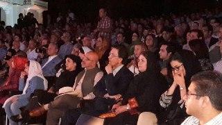 حضور اعضای هیئت مدیره انجمن در مراسم بزرگداشت شهرام ناظری