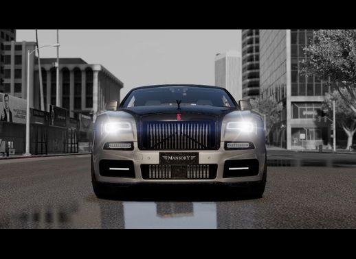 خودرو رولز رویس Dawn تیونینگ منصوری برای GTA V