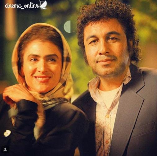 عکس فوق العاده از گریم رضا عطاران و ویشکا آسایش