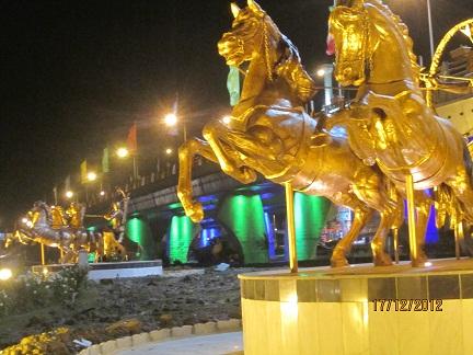 زیرگذر میدان فرح آباد ساری