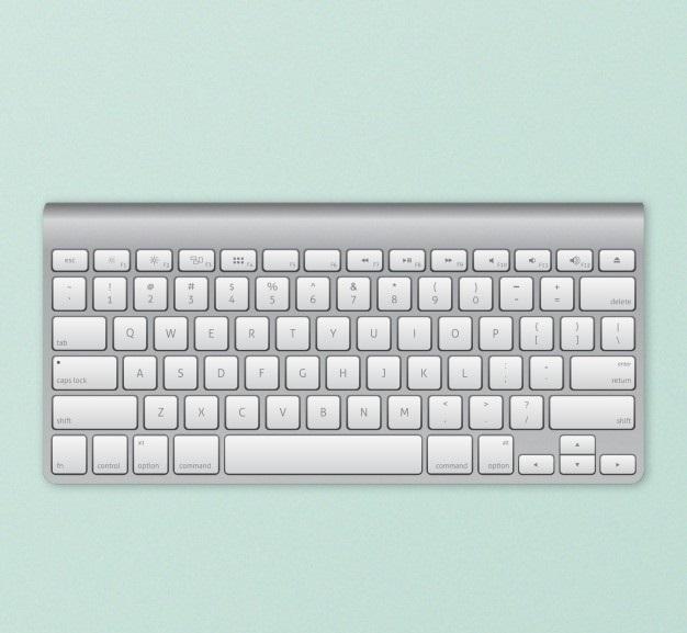 صفحه کلید یا کیبورد یکی از ورودی های کامپیوتر