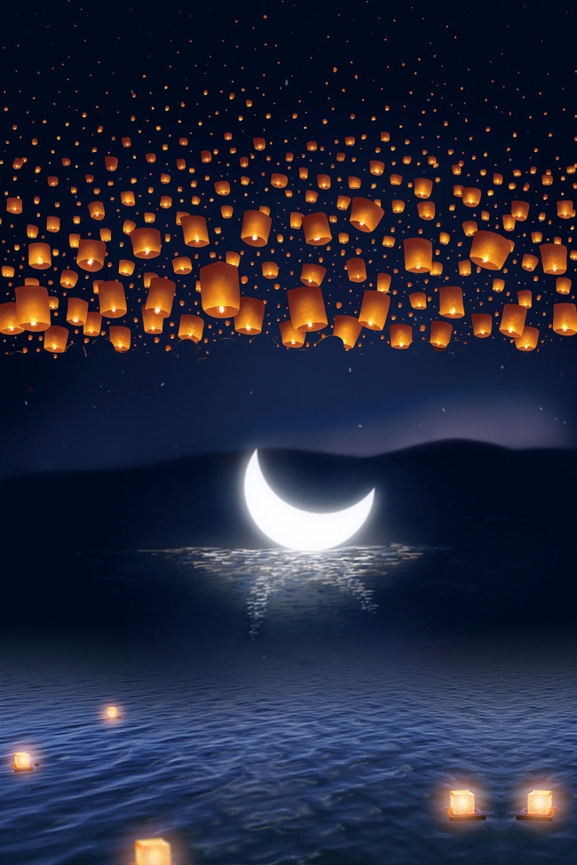 عکس شب و ماه