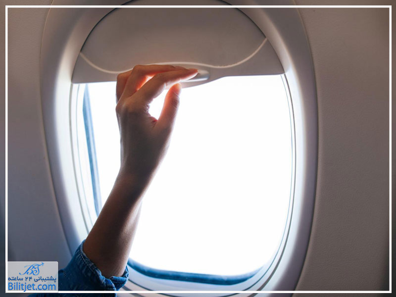 جنس شیشه های کناری هواپیما